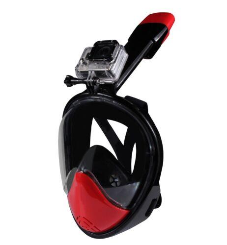 Waterproof Sport Action Camera w Full Face Snorkel Mask SNORKEL PACKAGE