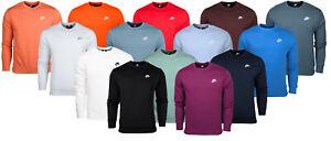Nike Herren Club Crew Sweatshirt Sweater Pullover