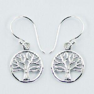 f33312ba9 Image is loading Silver-earrings-hook-drop-925-sterling-dangle-small-