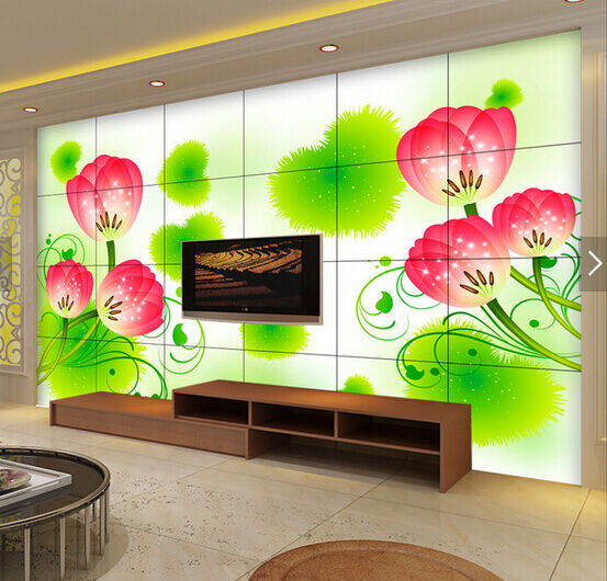 3D Flowers Embellishment Paper Wall Print Wall Decal Wall Deco Indoor Murals