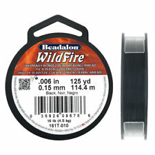 Beadalon Wildfire Beading Thread 006in,008in 20,50YD,125YD VariousColors Cutter