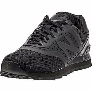 new balance 574 solid black