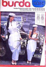 UNCUT Burda Pattern 6094 European Wedding Bridal Pleated Dress Shrug Jacket 8-18