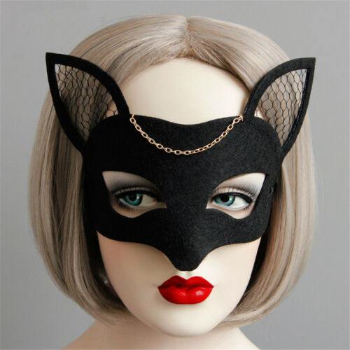 Halloween Party Masquerade Ball Prom Half Deer Face Mask Kids Adults Accessory