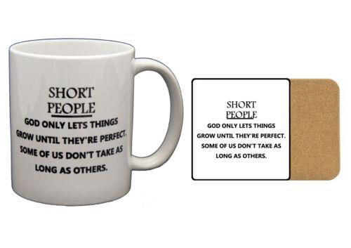 PRESENT Short People Until Perfect Mug Novelty PRINTED MUG MUGS-GIFT