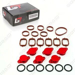 32mm-Rouge-Aluminium-Spirale-Clapet-Remplacement-Set-Torique-pour-BMW-3-Neuf