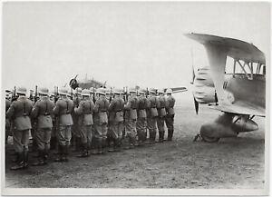Apell-in-einem-Fliegerhorst-Orig-Pressephoto-um-1939
