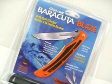 Havalon Orange Baracuta Blaze Folding Knife Sheath 5 Blades 115blaze