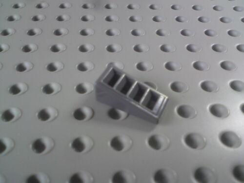Lego Slope with Grill 2x1x2//3 Dark Grey x16 61409