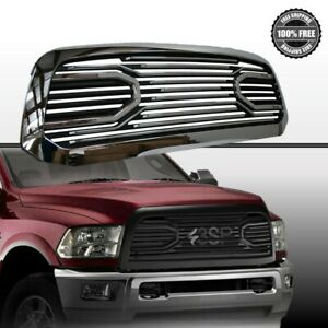 10-17-Dodge-RAM-2500-3500-Front-Chrome-Black-Big-Horn-Replacement-Grille-Shell