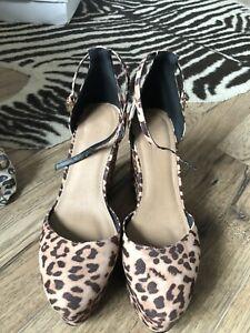 ASOS Leopard Print Shoes Size 8 | eBay