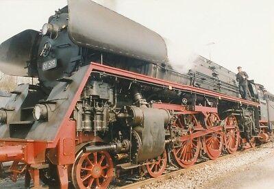 01 519 Dampflokomotive Foto Ca. 10 X 14,7 Cm - Ds907a