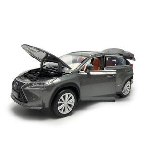 1-32-Lexus-NX-200T-SUV-Die-Cast-Modellauto-Auto-Spielzeug-Model-Sammlung-Grau