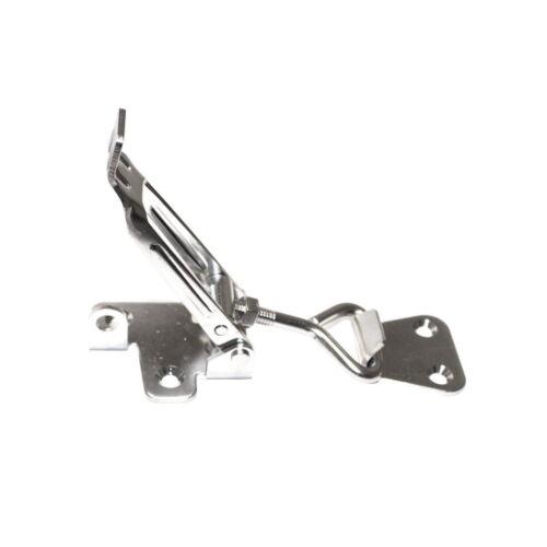 1 Stück Edelstahl Hebelverschluß 165-185mm V2A Spannverschluss Kistenverschluss