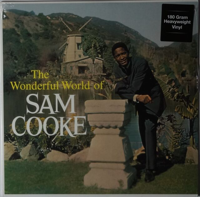Sam Cooke - The Wonderful World of... LP 180g vinyl NEU/SEALED