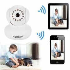 Wireless WIFI IP PTZ Security Camera IR Webcam Network Night Vision Remote White