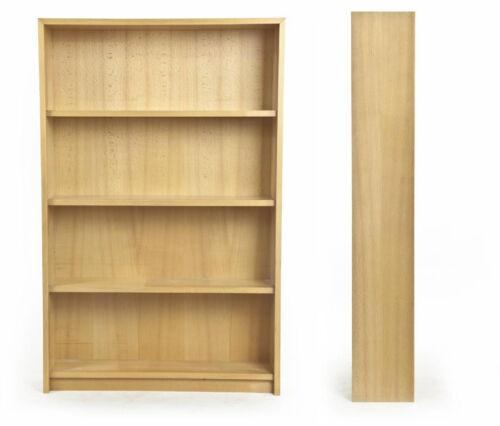 Wand-Stand-Bücher-Regal Holz Buche Sixties