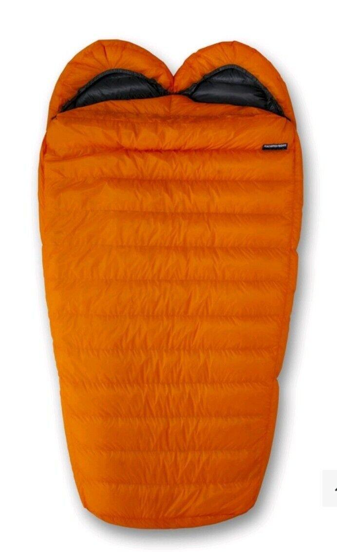 Spoonbill UL Sleeping Bag  - color  Tangerine - Length  Long  fantastic quality