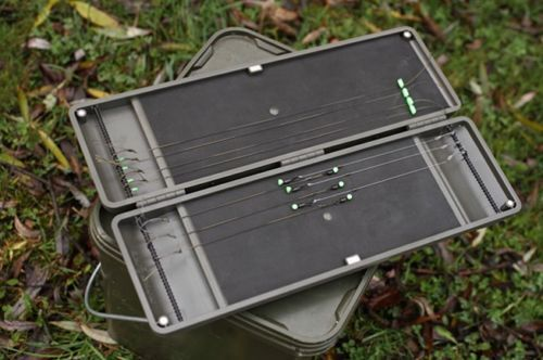 BRAND NEW KORDA LARGE RIG SAFE STORAGE BOX FOR 90 TIED RIGS, FOR CARP FISHING