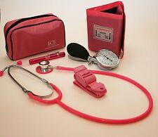 Rosa aneroid presión arterial esfinganometro Estetoscopio Linterna Torniquete Gp