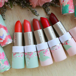 Cute-press-X-Disney-The-little-Mermaid-marine-magic-collagen-lipstick-Collection