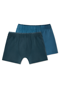 Schiesser Garçons hip-Retro Shorts 2er Pack XS M L 140-176 95//5 CO//el Boxer Shorts