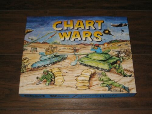 Chart Wars Space Waste 1992 Unpunched 1st Printing Limited Ed. Copy # 379