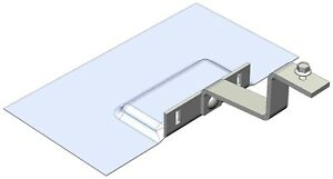 Magerack Tile Hook With Flashing For Solar Panel Module