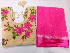 Designer Pearl Work Indian Bollywood Style Wedding & Party Wear Saree