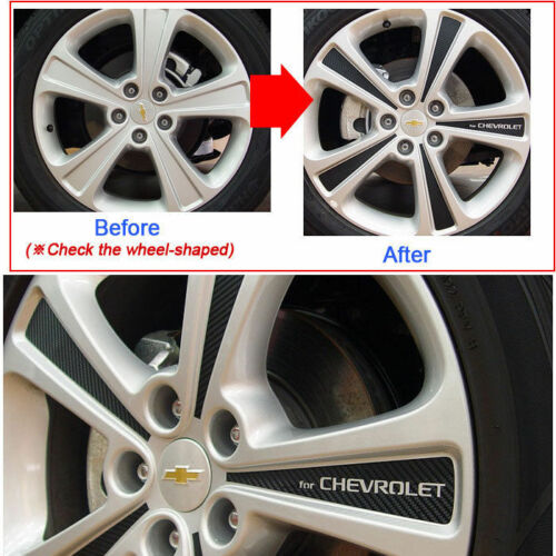 2011 Captiva 19inches Tire Carbon Wheels Mask Decal Sticker car
