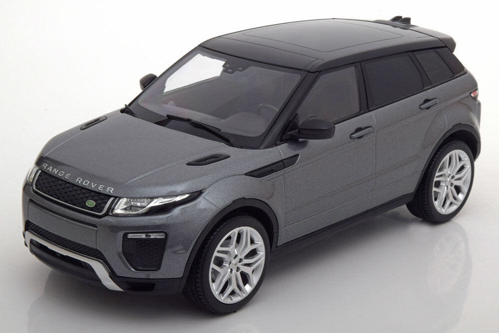 Kyosho 2016 Range Rover Evoque Dynamic Lux grigio Metálico nero 1 18 Escala Nuevo