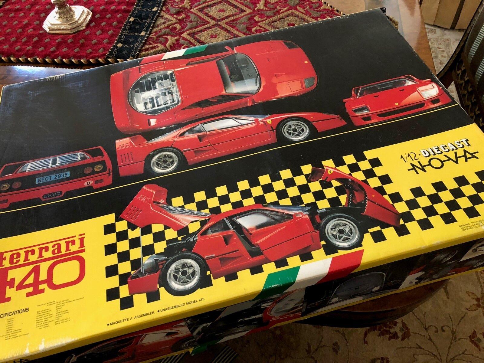 Fujimi Nova 1 12 1987 Ferrari F40 Métal Pré-peints Super Kit
