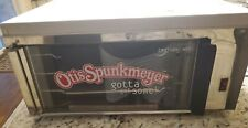 Otis Spunkmeyer Os 1 Commercial Convection Cookie Oven With 2 Racks And Cook Guide