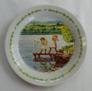 Assiette-Ceramique-Ceramic-Plate-034-Anne-of-Green-Gables-034-Nippon-Animation