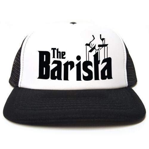 Godfather Spoof The Barista Funny Retro Trucker Cap Snapback 3 Colours