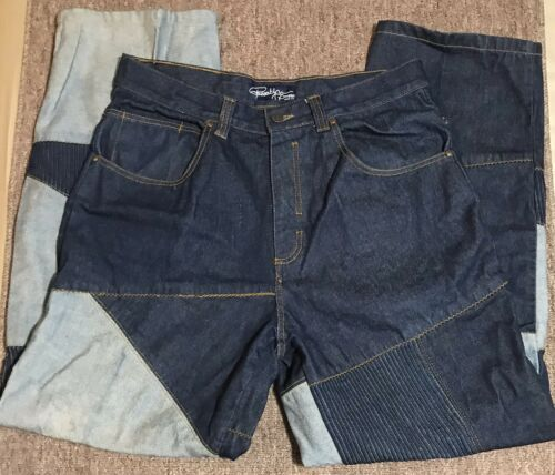 Brooklyn Patchwork Sz Xpress Jeans Urbain 36x34 Style Mens Pantalon Jeans EaCxqTC