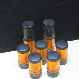 Lote-de-7-Allen-Bradley-855E-24BR5-Estroboscopico-Modulos-amp-2-855E-B24SA3