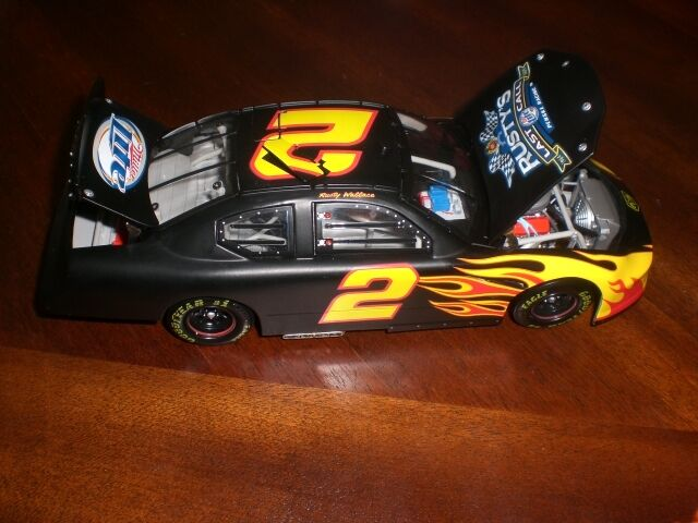 XRare Rusty Wallace   2 Miller Lite Last Call Test Voiture 2005 action 1 24 RARE  magasin vente sortie