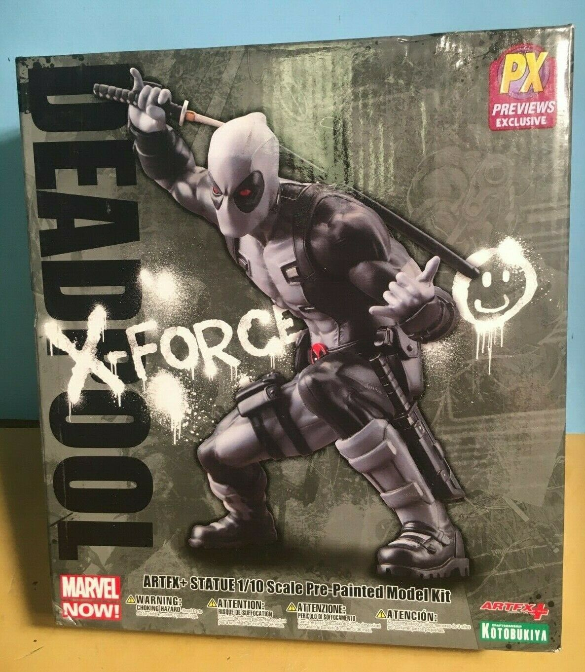 Marvel Now Deadpool artfx PVC-estatua-Deadpool Exclusive versión