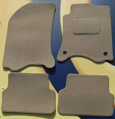 Renault Grand Scenic 2009On Fully Tailored Black Carpet Car Mats