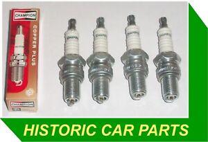 4-Bujias-Para-Austin-Healey-Sprite-1275cc-Mk4-1966-71-reemplazar-Champion-N9YC