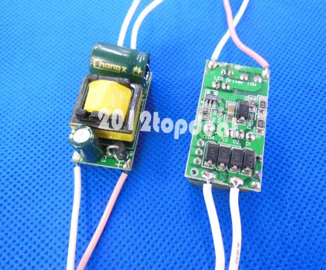 1pc 3x3W - 4x3w Watt High Power LED Light lamp Driver Power Supply 85-265V 650mA