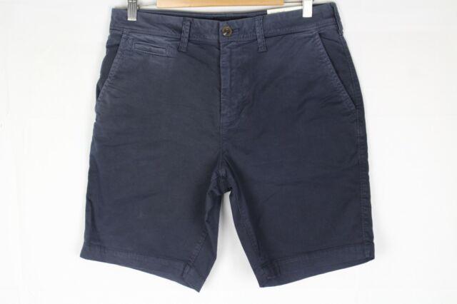 American Eagle Men's Slim Next Level Stretch Khaki Shorts Blue