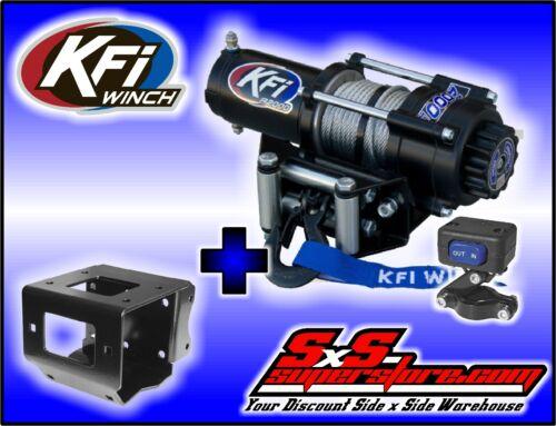 2000 lb KFI Winch Combo Polaris Sportsman ETX 400 450 500 570 800 850 1000 2011+