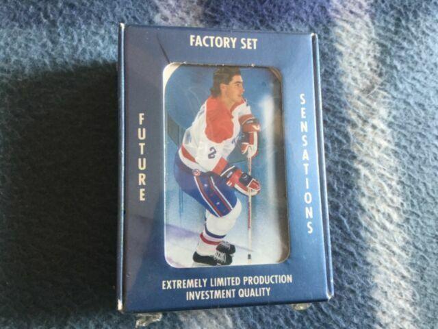 1991 Ultimate Sports Cards Future Sensations Hockey Premier 90 Card Set For Sale Online Ebay