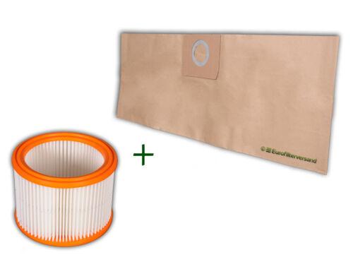 12 Sacchetto per Aspirapolvere Nilfisk WAP Alto SQ 450-11-21-31 filtri 1 x filtro dell/'aria PES