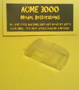 Dinky-169-Ford-Corsair-2000E-Reproduction-Repro-Clear-Plastic-Window-Unit