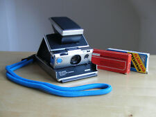 Polaroid SX-70 Land Camera Alpha 1 Revue / SX70 Kamera / Blue Button
