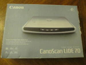 CANON CANOSCAN LIDE 70 DRIVER WINDOWS XP