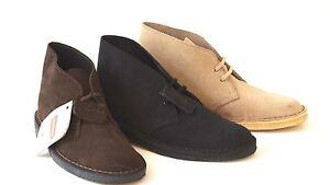 Desert-Boot-CLARKS-ORIGINALS-uomo-polacchino-camoscio-made-in-England-camoscio